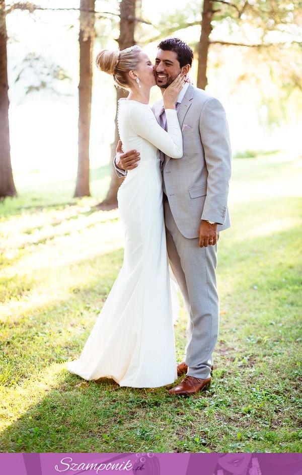 Szamponikpl Cudownie Dopasowana Suknia ślubna Dla Pań O