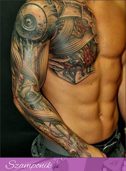 Szamponikpl Niesamowity Tatuaż 3d