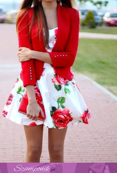 4546f0938b Szamponik.pl - Piękna sukienka w kwiatki