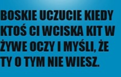 Boskie uczucie ;D
